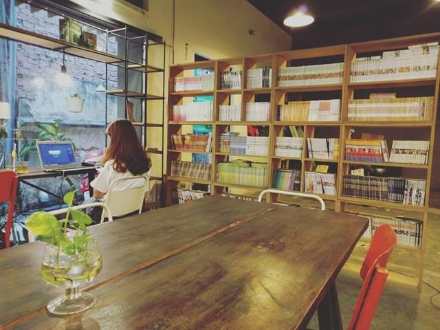 Cà phê sách