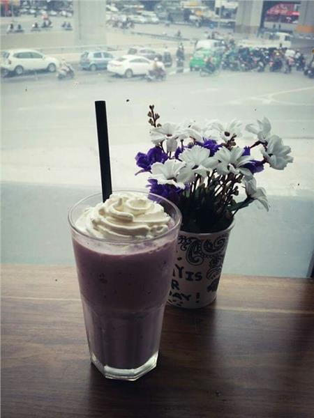Smoothie Việt quất