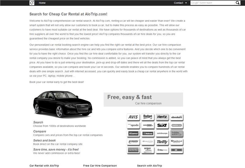 AloTrip Car Rental