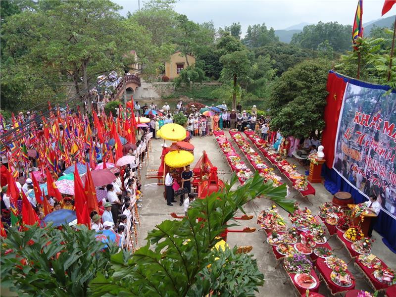 Suoi Mo Festival in Bac Giang