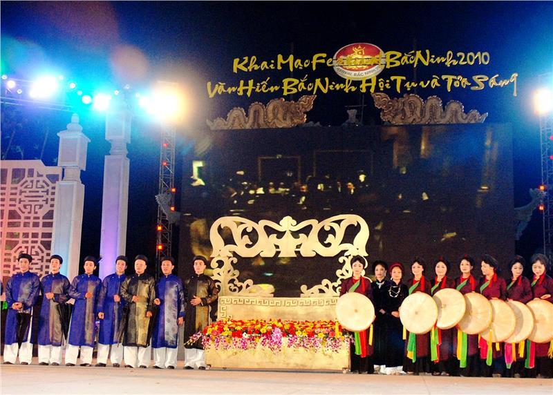 A cultural event in Bac Ninh