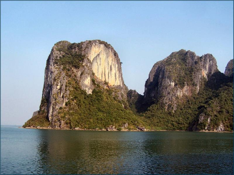 Mountain at The Vang Island