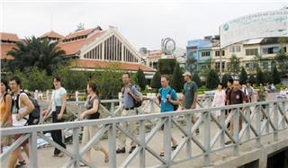 Can Tho offers free Wi-Fi in Ninh Kieu Pier