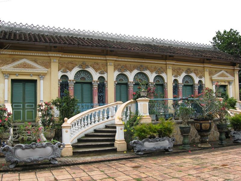 Facade of Binh Thuy ancient house