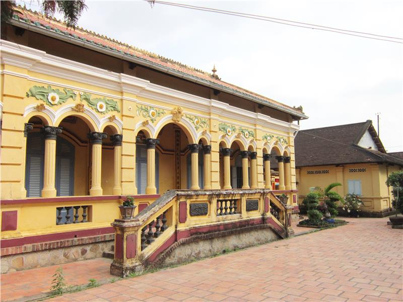 Nam Nha Pagoda in Long Tuyen Village