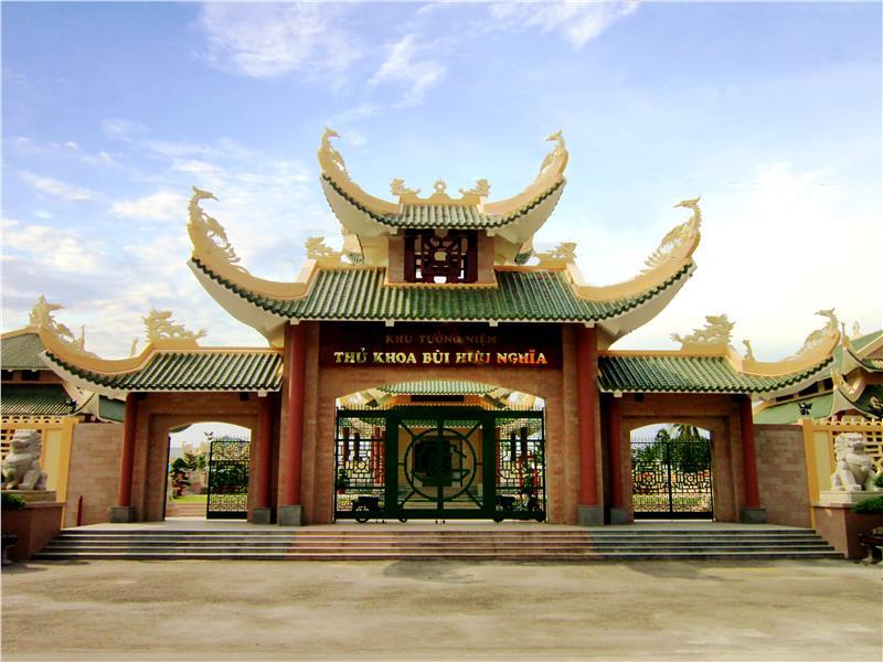 Tombs of Bui Huu Nghia Poet in Long Tuyen Village