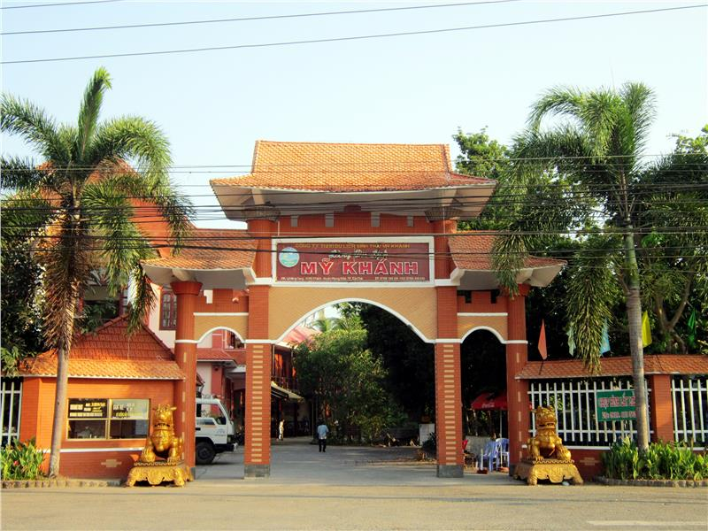 My Khanh tourist village in Can Tho