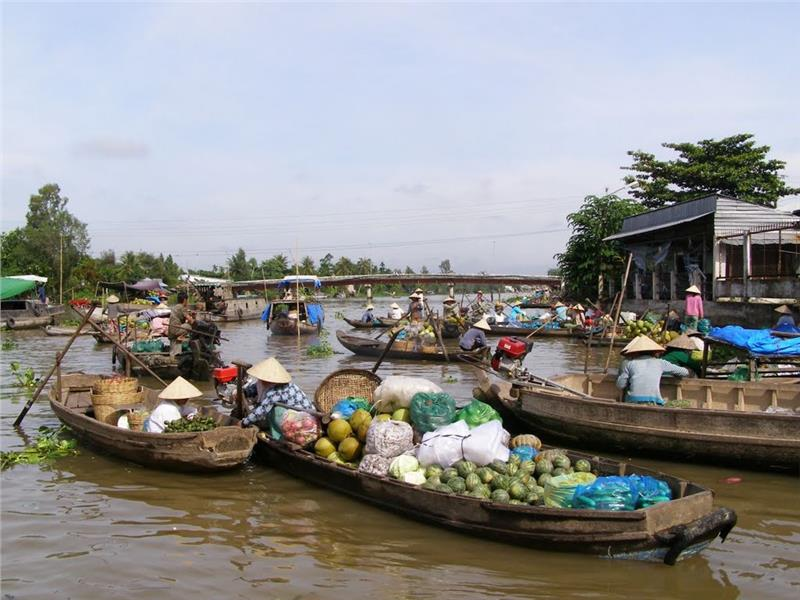 Phong Dien Floating Market Can Tho