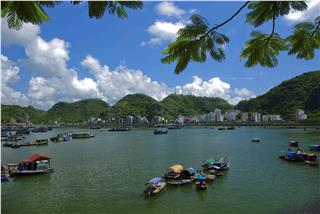 Beautiful Cat Ba Island will be in my mind forever
