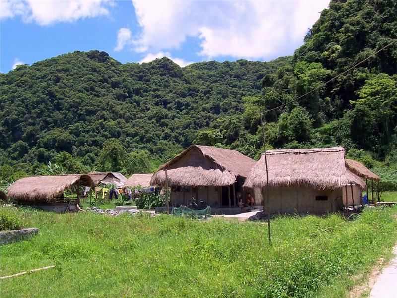 Viet Hai Village in Cat Ba