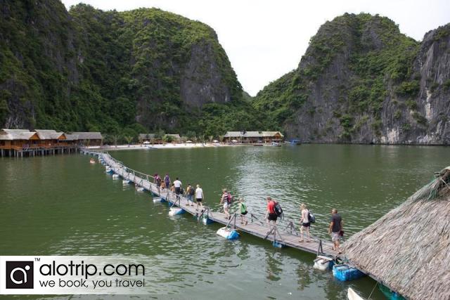 Visit Nam Cat Beach in Cat Ba tours