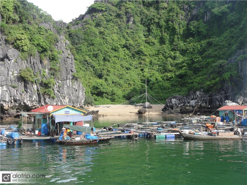 Fishing Village in Cat Ba