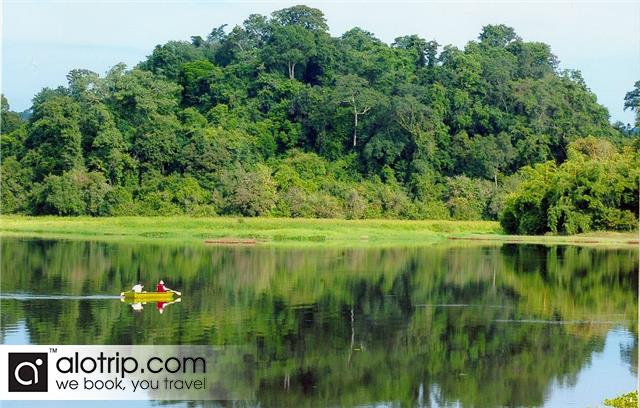 a beautiful lake in Cat Tien National Park