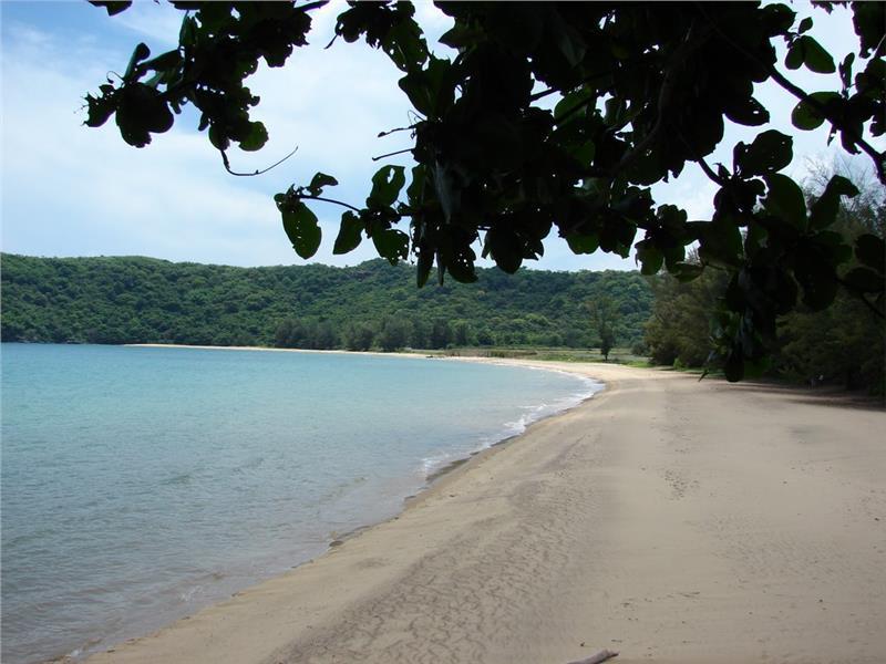 Dam Trau Beach in Con Son, Con Dao Islands