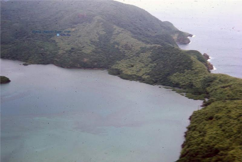 Panoramic view of Bay Canh Island