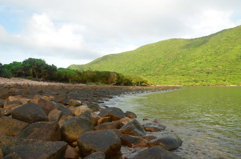 Reefs on Bay Canh Island