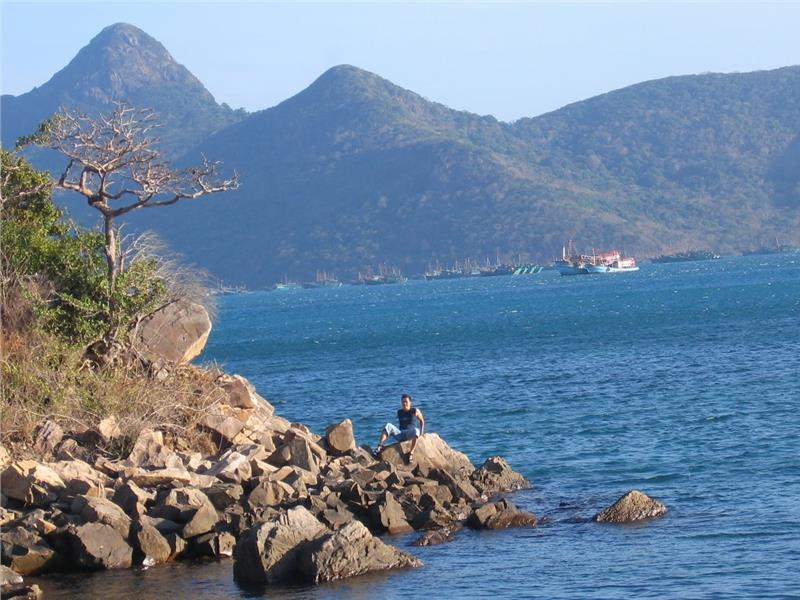 Ben Dam port, Con Dao island