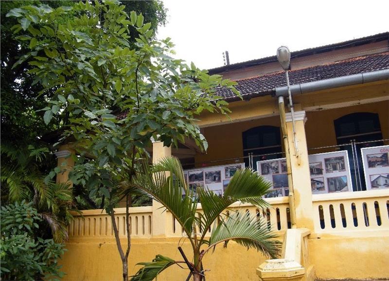 A corner of Island Lord Palace