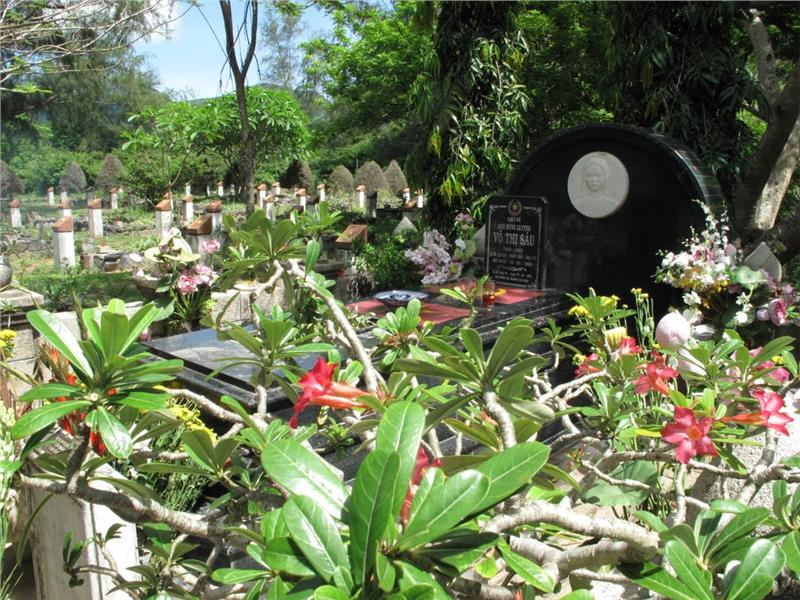 Vo Thi Sau Tomb at Hang Duong Cemetery