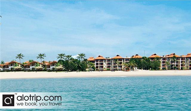 a Resort in Bac My An Beach