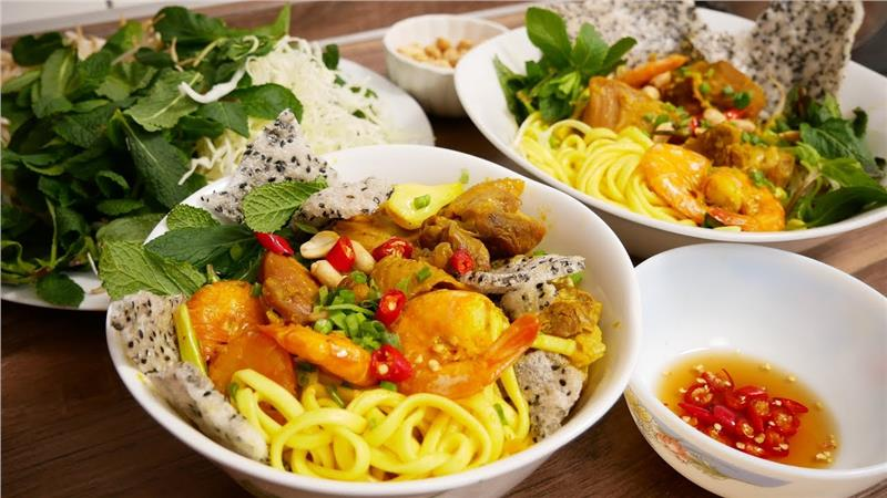 Mì Quảng ở Đà Nẵng