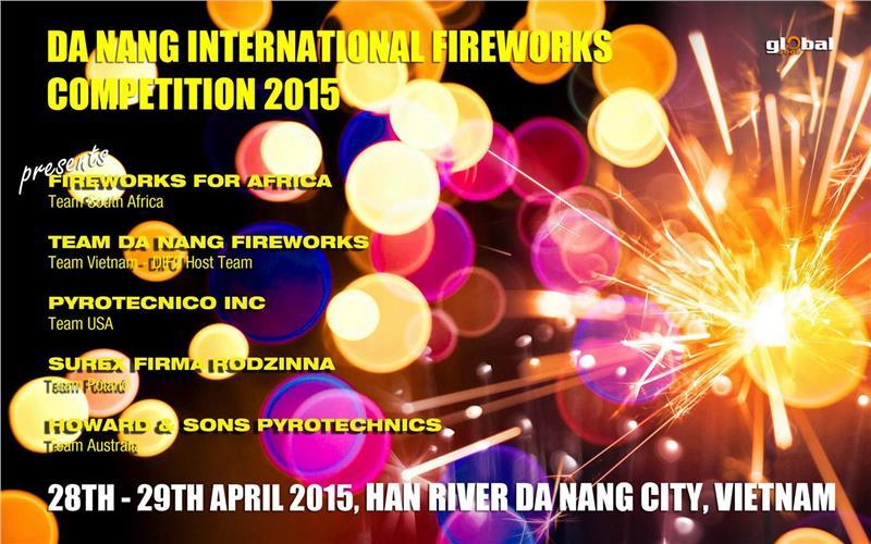 Da Nang International Fireworks Competition 2015