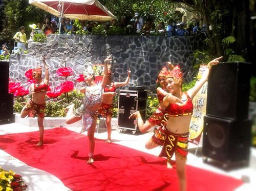 Launching Wine Festival in Ba Na Hills