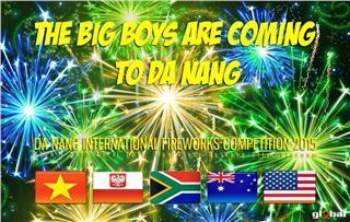 5 big boys in Da Nang International Fireworks Competition 2015