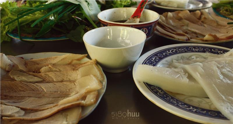 Banh Trang Cuon Thit Heo - Da Nang