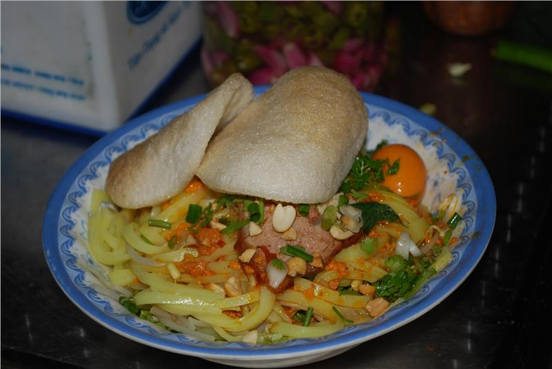 A bowl of Mi Quang - Da Nang