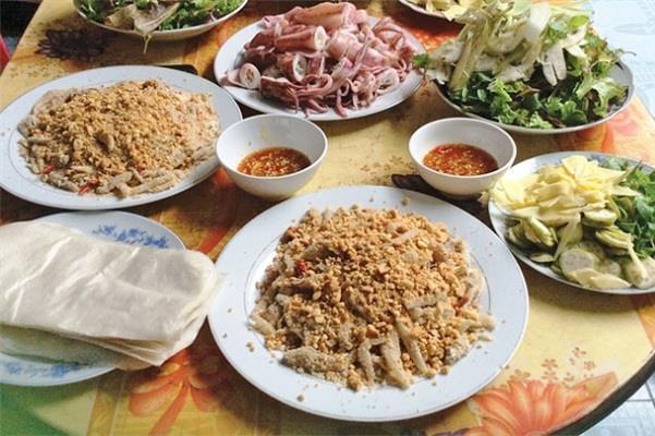 Gỏi cá Nam Ô tại Đà Nẵng