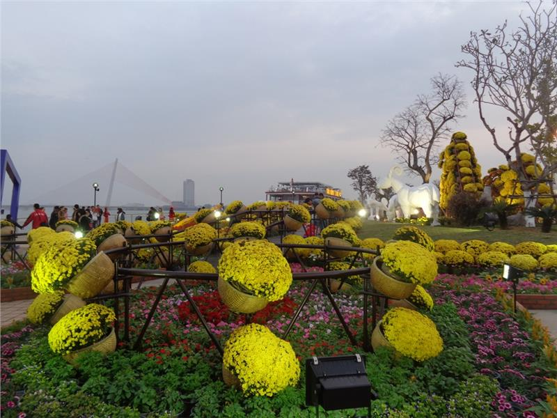 Bach Dang Flower Street, Da Nang City