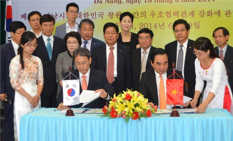 Cooperation between Da Nang and Changwon Korea boosted