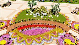 Da Nang Flower Street opens to welcome visitors