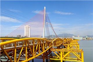 Nguyen Van Troi Bridge will be the first pedestrian bridge in Da Nang