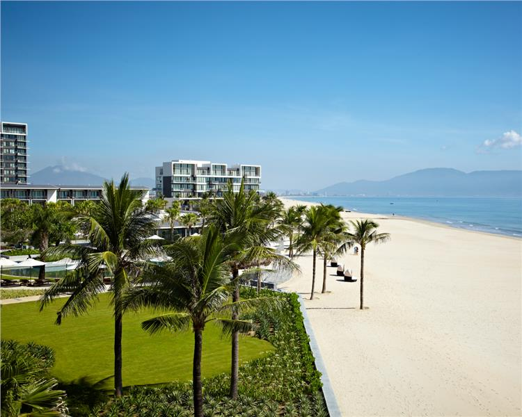 Beach view in Hyatt Regency Danang