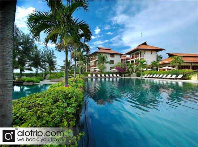 Furama Resort view from Swimming Pool