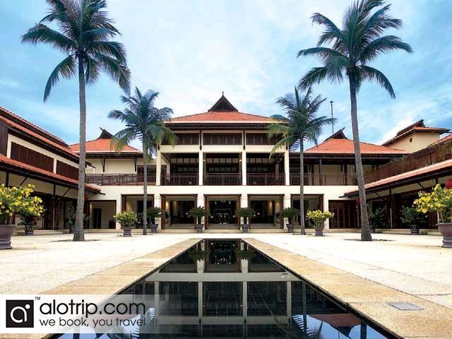 the center of Furama Resort