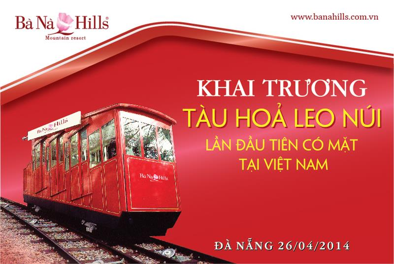 Ba Na Hills will operate the first funicular in Vietnam