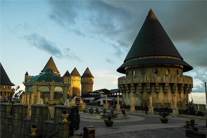 Fantastic Park in Ba Na Hills