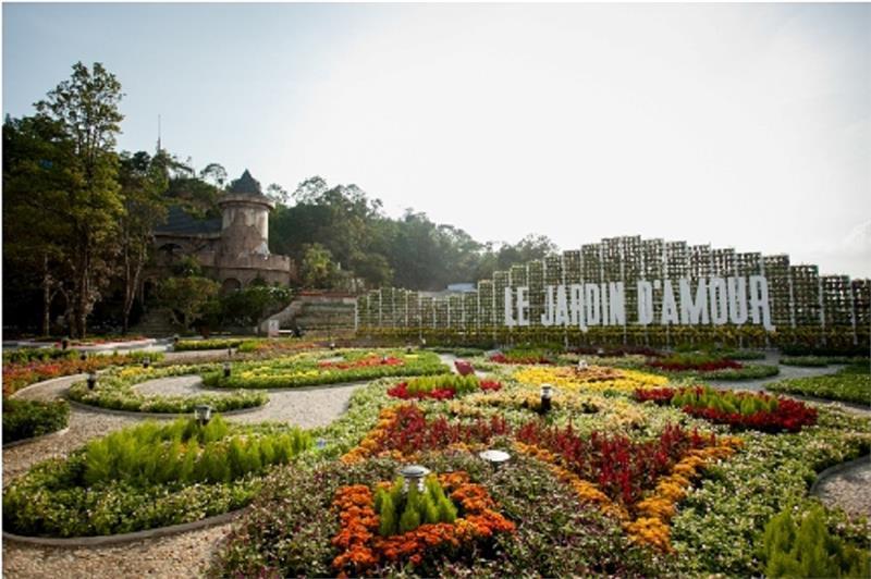 Le jardin d Eden in Ba Na Hills