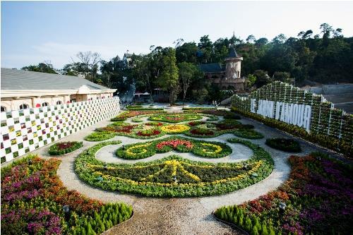 Le jardin des epoux in Ba Na Hills