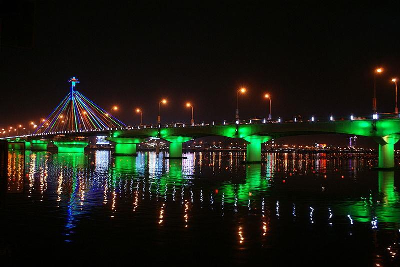 Han River Bridge by night