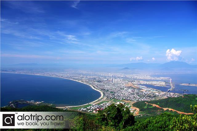a luxury resort in Son Tra Peninsula Panorama