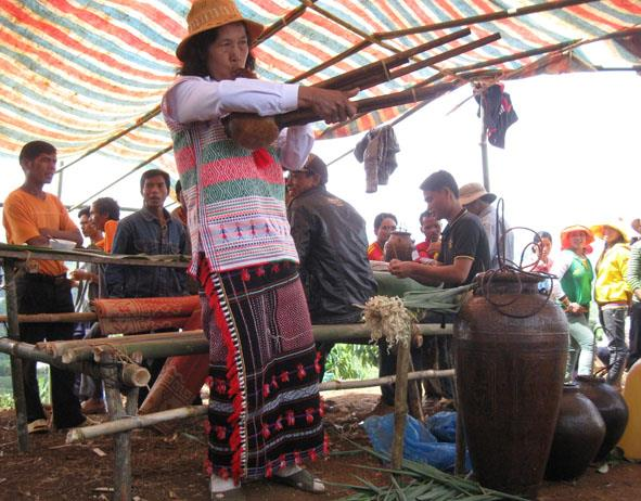 Rice Growth Festival in Central Highlands