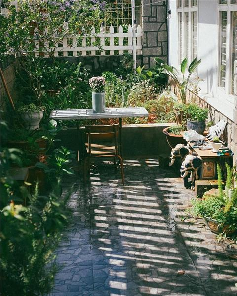 Một góc sân vườn của Second House