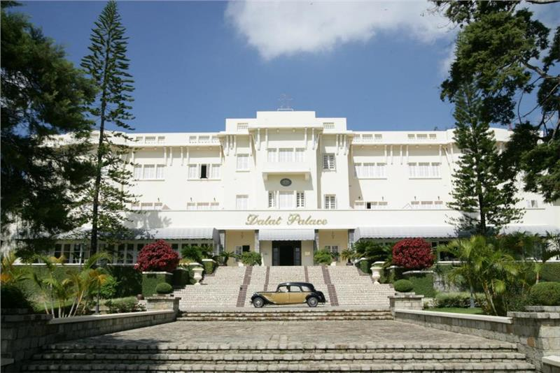 Dalat Palace Luxury Hotel and Golf Club - Facade