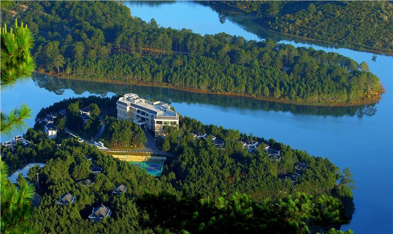 5 favorable hotels and resorts in Dalat in New Year 2015