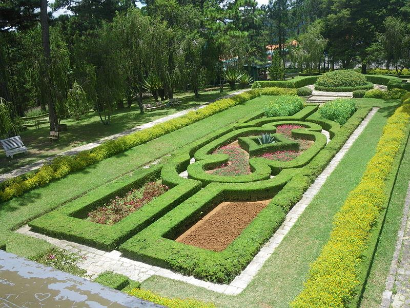 Gardens in Bao Dai Summer Palace