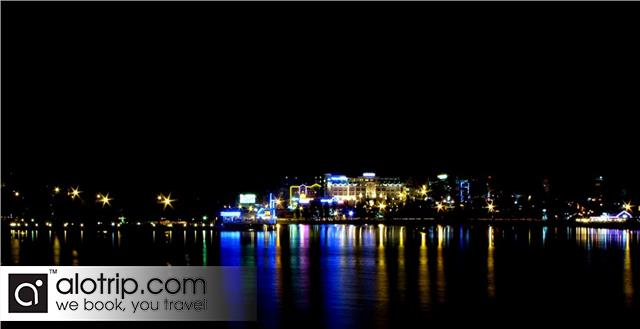 Da Lat City  View by night
